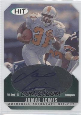 2000 SAGE Hit - Autographs - Diamond Die-Cut #A31 - Jamal Lewis