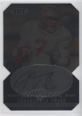 2000 SAGE Hit Autographs Diamond Die-Cut #A14 - Laveranues Coles