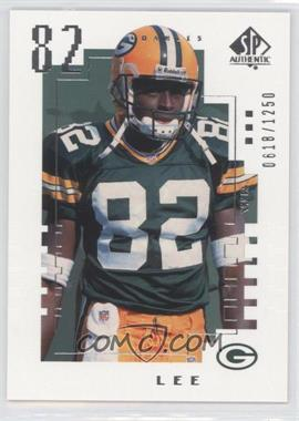 2000 SP Authentic - [Base] #155 - Charles Lee /1250