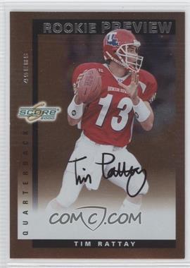 2000 Score [???] #SR34 - Tim Rattay