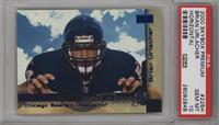 Brian Urlacher (Horizontal, Blue, Serial'ed) /2000 [PSA 10]