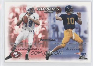 2000 Skybox Dominion #234 - Giovanni Carmazzi, Tom Brady