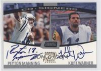 Peyton Manning, Kurt Warner