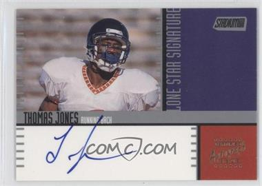 2000 Stadium Club Lone Star Signatures #LS14 - Thomas Jones