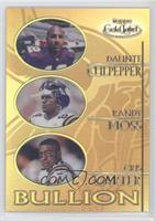 Daunte Culpepper, Randy Moss, Cris Carter