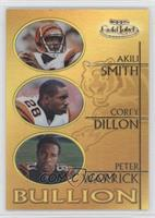 Akili Smith, Corey Dillon, Peter Warrick