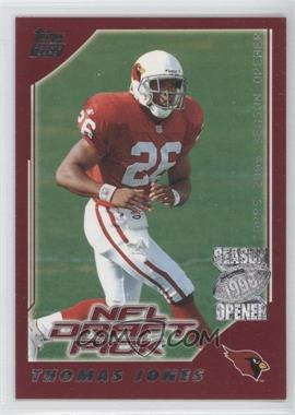 2000 Topps Season Opener #203 - Thomas Jones