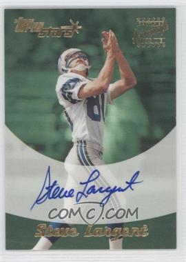 2000 Topps Stars - Autographs #SL - Steve Largent