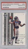 Brian Griese /1500 [PSA 10]