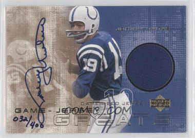2000 Upper Deck [???] #JU - Johnny Unitas