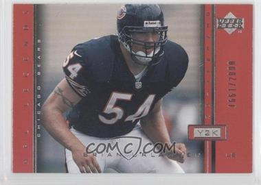 2000 Upper Deck Legends [???] #105 - Brian Urlacher /2000