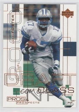 2000 Upper Deck Pros & Prospects #138 - Larry Foster /1000