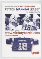 Peyton Manning Contest Card