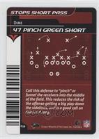 47 Pinch Green Short