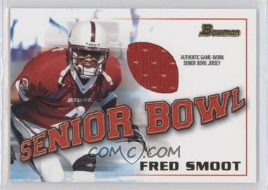 2001 Bowman - Rookie Jerseys #BJ-FS - Fred Smoot