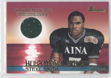 2001 Bowman - Rookie Jerseys #BJ-SS - Steve Smith