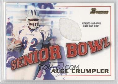 2001 Bowman [???] #BJ-AC - Alge Crumpler