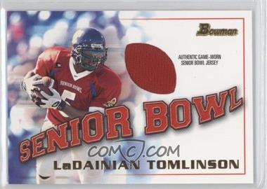 2001 Bowman [???] #BJ-LT - LaDainian Tomlinson