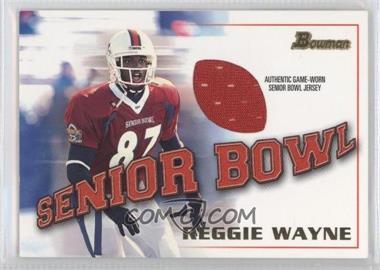 2001 Bowman [???] #BJ-RW - Reggie Wayne