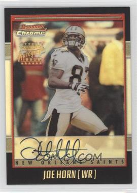2001 Bowman Chrome Rookie Autographs #BC-JHO - Joe Horn