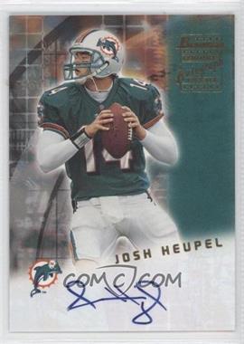 2001 Bowman Rookie Autographs #BA-JH - Josh Heupel