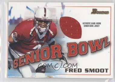 2001 Bowman Rookie Jerseys #BJ-FS - Fred Smoot