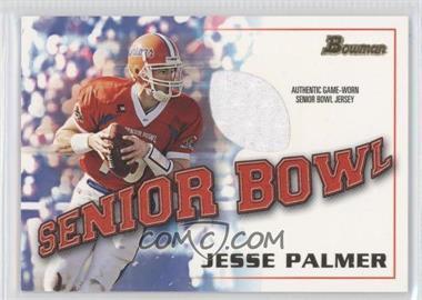 2001 Bowman Rookie Jerseys #BJ-JP - Jesse Palmer
