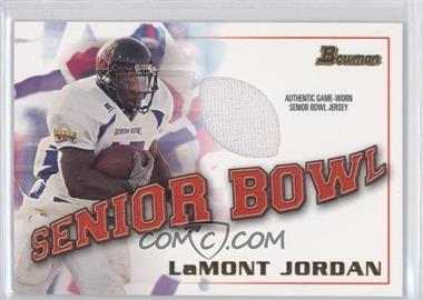 2001 Bowman Rookie Jerseys #BJ-LJ - LaMont Jordan