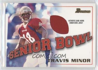 2001 Bowman Rookie Jerseys #BJ-TM - Travis Minor