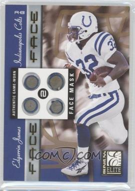 2001 Donruss Elite Face 2 Face #FF-6 - Edgerrin James /100