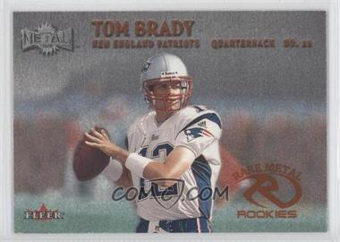 2001 Fleer E-X #267 - Tom Brady