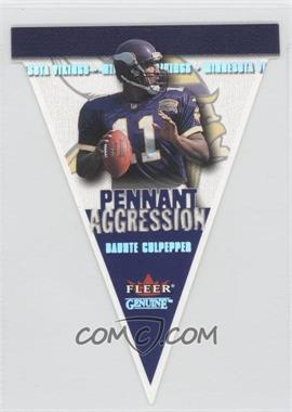 2001 Fleer Genuine [???] #4PA - Daunte Culpepper