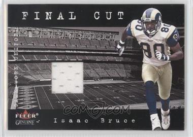 2001 Fleer Genuine Final Cut Jerseys #ISBR - Isaac Bruce