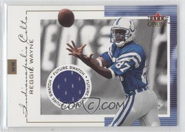 2001 Fleer Genuine #133 - Reggie Wayne /1000