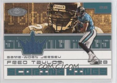 2001 Fleer Hot Prospects Scoring King Jerseys #FRTA - Fred Taylor