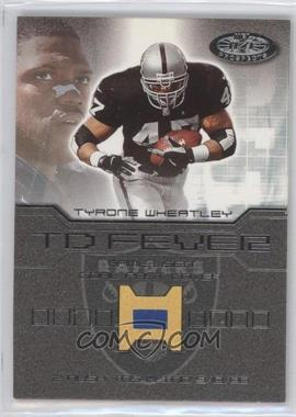2001 Fleer Hot Prospects TD Fever #TYWH - Tyrone Wheatley