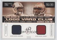 Eddie George, Warrick Dunn /400