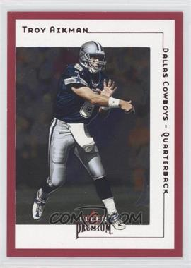 2001 Fleer Premium - [Base] - Star Rubies #SR 63 - Troy Aikman /125