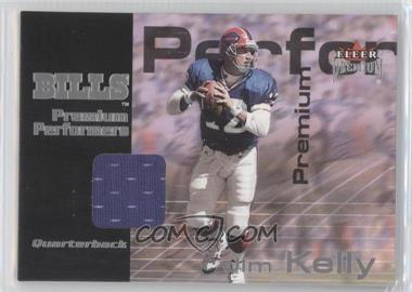 2001 Fleer Premium Premium Performers Jerseys #JIKE - Jim Kelly /900