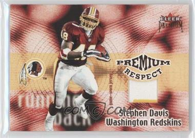 2001 Fleer Premium Premium Respect Jerseys #N/A - Stephen Davis /80