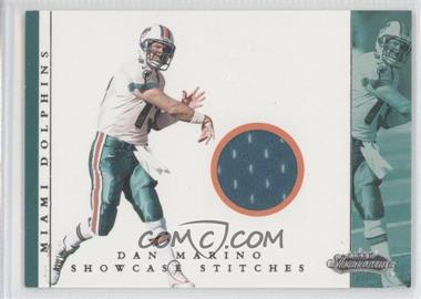 2001 Fleer Showcase - Showcase Stitches #DAMA - Dan Marino