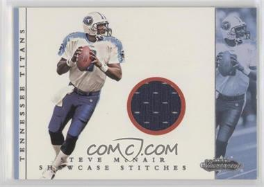 2001 Fleer Showcase - Showcase Stitches #STMC - Steve McNair