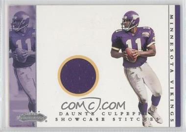 2001 Fleer Showcase [???] #DACU - Daunte Culpepper