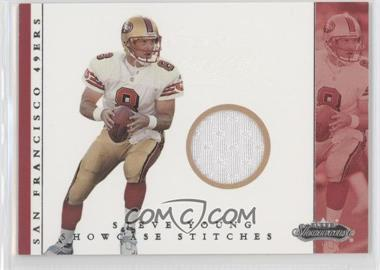 2001 Fleer Showcase [???] #STYO - Steve Young