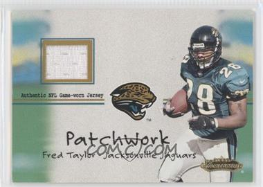 2001 Fleer Showcase Patchwork #FRTA - Fred Taylor