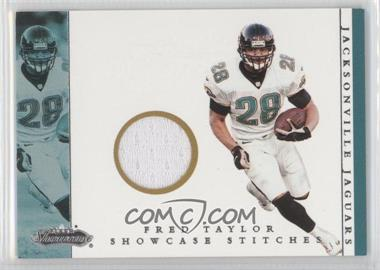 2001 Fleer Showcase Showcase Stitches #FRTA - Fred Taylor