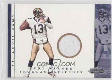 2001 Fleer Showcase Showcase Stitches #KUWA - Kurt Warner