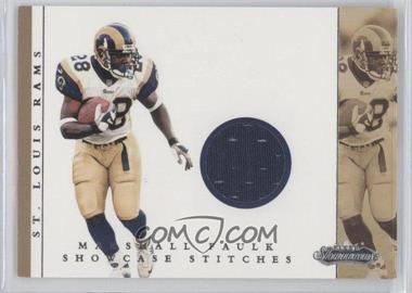2001 Fleer Showcase Showcase Stitches #MAFA - Marshall Faulk