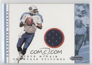 2001 Fleer Showcase Showcase Stitches #STMC - Steve McNair