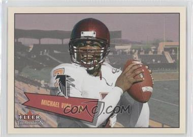 2001 Fleer Tradition Glossy [???] #401 - Michael Vick /699